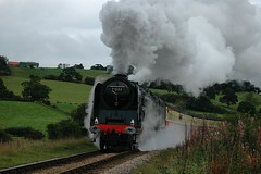 20080928   71000 (paulbrankin775) Tags: 71000 duke gloucester br 8p autumn steam gala nymr north yorkshire moors railway locomotive grosmont
