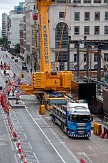 _DSC9187 (NRM the 2nd) Tags: htcwolffkran wolffkran 355b 500b ainscough liebherrltm1750 goldmansachs london cityoflondon construction 2016