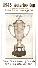 Brochure cover Waterloo Cup  1945