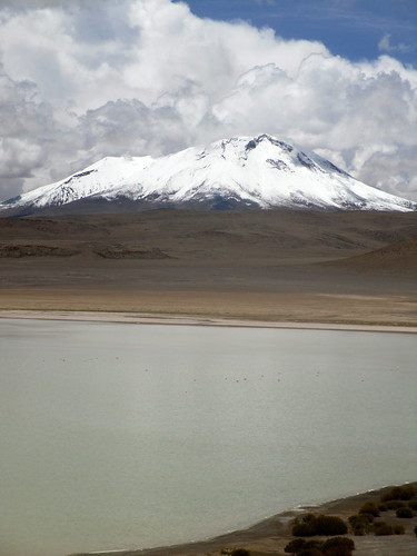 Altiplano's Mountain & Lake