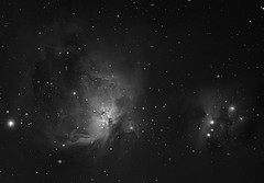 Orion Nebula Mosaic test (chris_swatton) Tags: auto man stars star signature tripod bisque running apo rob mount miller nebula software orion series dust triplet mx equatorial paramount filterwheel tmb robotic lodestar cloude f7 oag lrgb atik guider 130mm autoguider computerised Astrometrydotnet:status=solved 314l tmb130ss Astrometrydotnet:version=14400 megamount tri36m Astrometrydotnet:id=alpha20130105945329