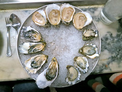 Oyster tasting (FoodTy [food-tee]) Tags: sanfrancisco usa swanoysterdepot