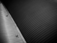Ribbed (Mr sAg) Tags: roof blackandwhite abstract building shop architecture mono store curves lancashire oldham ribbed sag ridges lancs tkmaxx simonharrison architecturalabstract mrsag
