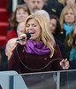 Kelly Clarkson sings after President Barack Obama was sworn