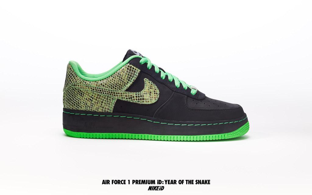 dfe0d5c5b377 Air Force 1 Premium iD (NIKEiD) Tags  1 shoes force snake air id