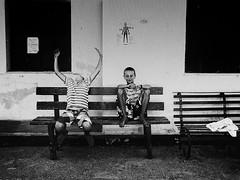 (Sakis Dazanis) Tags: metal kids alien streetphotography olympus sound marble omd paxi sakis em5 dazanis