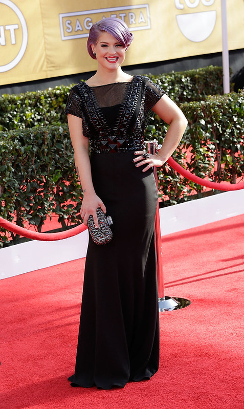 19th Annual Screen Actors Guild (SAG) Awards held at the Shrine Auditorium - Arrivals Featuring: Kelly Osbourne - WENN.com