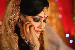 Barely Legal (Russell John) Tags: wedding portrait love apple girl mobile lady 50mm bride colorful phone bokeh marriage reception portraiture wife dhaka colourful bangladesh shobha sumon 450d russelljohn dhalpur