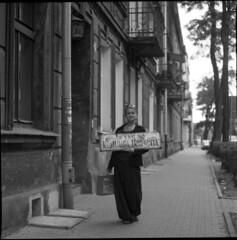 Traugutta (pavlov's.daughter) Tags: street portrait bw 120 mamiya tlr rollei mediumformat goodbye kraków cracow 105mm c330 newstart squere podgórze romualda traugutta
