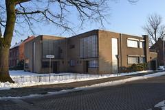 Architectenwoning Jozef Schellekens, Turnhout (Erf-goed.be) Tags: geotagged antwerpen turnhout archeonet tweewoonst architectenwoning dubbelwoning geo:lat=513212 jozefschellekens geo:lon=49643