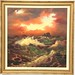 11. Artist Signed Seascape Painting
