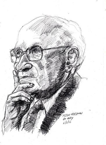 From flickr.com: Milton Friedman M  ‹