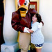 With Launchpad McQuack in Toontown