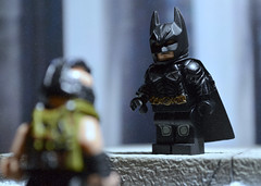 LEGO The Dark Knight Rises - Final Assault (MGF Customs/Reviews) Tags: tom dark lego christian batman ann knight gotham bale bane catwoman hathaway rises hardy the tdkr