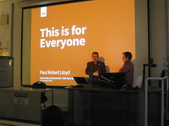 TalkWD 2013: David Watson & Paul Lloyd
