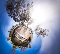 Ostria little planet (amfipolos) Tags: sea panorama beach photoshop sand wind 360 athens panoramic greece sonycybershot polarcoordinates ελλάδα ostria littleplanet polarpanorama αθήνα stereographicprojection παραλιακή άλιμοσ pixelbender όστρια