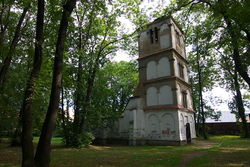Ruina kościoła cmentarnego św. Jana Ewangelisty w Paczkowie