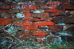 Redbrick Wall (rickymulan) Tags: sunset cold water walk yorkshire january reservoir holmfirth huddersfield bilberry digley 2013