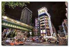 Akihabara: El Universo de la Electrónica. (Chikitosam) Tags: street building japan night canon tokyo noche calle edificio akihabara hdr japón 50d chikitosam