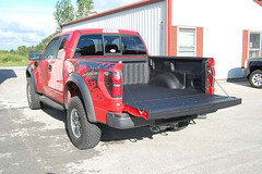 ford raptor with liner