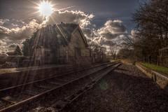 SwanbourneStationW (Tony Tooth) Tags: railroad nikon buckinghamshire rail railway disused bucks hdr d90 swanbourne varsityline