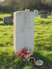 Kinson: CWGC gravestone, St Andrew's Churchyard (Bournemouth) (michaelday_bath) Tags: hampshire dorset bournemouth royalsignals kinson cwgc