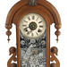 308. 19th Century Victorian Mantle Clock
