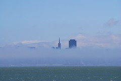 Heavenly San Francisco (AndersHolvickThomas) Tags: sf california fog ferry landscape bay nikon san francisco cityscape d80