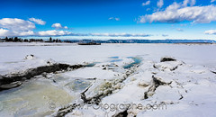 Montmagny, Qubec, Canada (po.fortin) Tags: winter snow canada ice river landscape hiver qubec neige stlaurent paysage saintlaurent glace fleuve montmagny