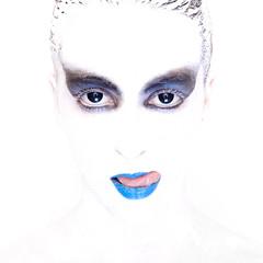 Hungry (Buldrock) Tags: portrait white makeup bodypainting ritratto trucco buldrock stefanobuldrini inspiredbyerwinolaf reflectionintheeyeinaspecialpose