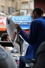 News & coffee break (ido1) Tags: city coffee reading newspaper cafe break read