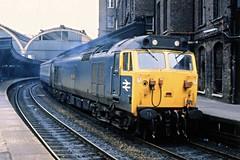 Class 50036 Paddington 10/4/80 (Stapleton Road) Tags: station railway paddington victorious englishelectric class50 50036