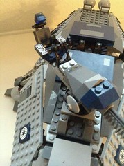Plush gunner seat (Johnny-boi) Tags: star lego walker 501st wars custom clone atte