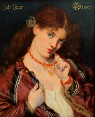 Joli Coeur (1867) (bodythongs) Tags: uk red england woman male art english gabriel beauty face look museum painting hair manchester necklace interestingness interesting nikon pretty gallery heart head expression dante fine arts victorian coeur musée best peinture canvas collection most lolita oil gb angleterre favourite popular gaze preraphaelite joli coquette viewed rossetti beaux coquettish d5100 bodythongs