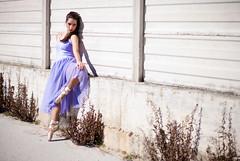 Serena (SimonaColadangelo) Tags: bw color girl contrast dance model nikon dancer serena simona ragazza contrasto