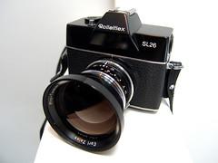 Rolleiflex SL26 04 () Tags: camera classic film rollei rolleiflex vintage germany kodak retro most german pan expensive expired 126 cartridge verichrome sl26