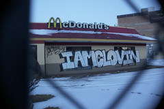 IAMCLOVIN (Rodosaw) Tags: chicago graffiti mcdonalds iamclovin