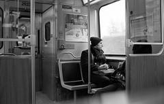 It's Out There (Fogel's Focus) Tags: leica chicago train cta 33 el transit commuting m4p film:iso=640 acufinediafine developer:brand=acufine developer:name=acufinediafine film:brand=freestylearista freestylearistalegacypro film:name=freestylearistalegacypro400 filmdev:recipe=8328 voigtlandernoktoncv35mmf14sc