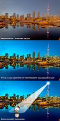 Before/After - Big City Lights (Pat Kavanagh) Tags: flickr challenge hdr photomatix bigcitylights patkavanagh klausherrmann thekav