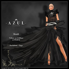 Revolt Image_c (mami_jewell) Tags: azul dress lace formal skirt pearl gown revolt ffl