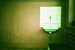 Basin. (Markus Moning) Tags: film analog 35mm 1 switzerland xpro cross sink mju ct olympus basin wash valley 200 process agfa luechingen rheintal rhine processed waschen moning waschbecken precisa becken wasch lchingen markusmoning mju1