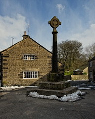The Old Cross, Old glossop (JEFF CARR IMAGES) Tags: derbyshire peakdistrict glossop northofengland stonebuilt