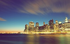 Wall Street (Anindo Dey) Tags: nyc newyorkcity newyork manhattan wallstreet eastriver brooklynbridgepark sunset bluehour dusk evening usa america anindodeyphotography anindodey wwwanindodeyphotographycom olympusomdem5 olympusem5 longexposure oniondo anindo dey brooklyn downtown freedomtower mygearandme mygearandmepremium mygearandmebronze mygearandmesilver mygearandmegold mygearandmeplatinum