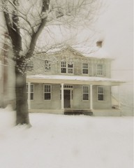 House of Snow (Many Muses) Tags: winter house snow abandoned home illustration farm historic lindaplaistedcom