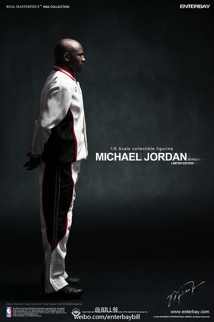 【ENTERBAY】Michael Jordan ─ 麥可喬丹 45號 主場限定版