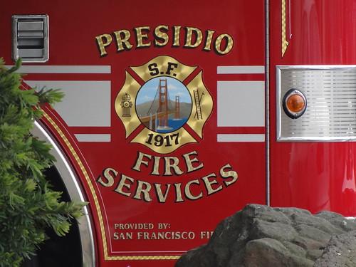 PRESIDIO FIRE SERVICES PROVIDED BY SAN FRANCISCO FIRE