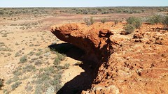 the drop (ClareSnow) Tags: winter cue australia outback redrock arid breakaway reddirt mulgacountry mulgascrub