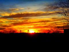 New York Sunset (dimaruss34) Tags: newyork brooklyn dmitriyfomenko image sunset brilliant