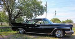 1961 Desoto (crusaderstgeorge) Tags: crusaderstgeorge 1961desoto 1961 desoto blackcars cars classiccars chrome americancars americanclassiccars americancarsinsweden gvle gvleborg jrnvgsmuseet jrnvgsmuseum