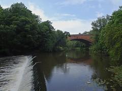Or Another (Bricheno) Tags: glasgow westend schottland szkocja scotland scozia escocia esccia cosse scoia    river kelvin riverkelvin bridge weir reflections bricheno
